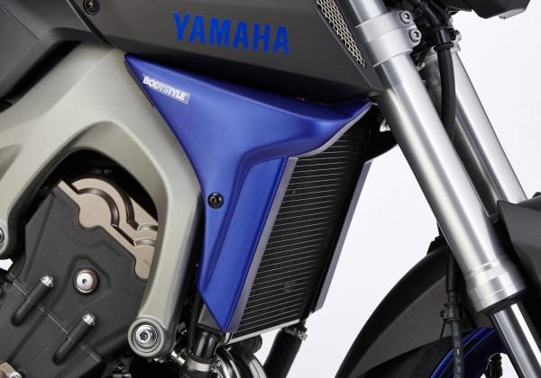 Kühlerseitenverkleidung - grau-matt - Yamaha MT-09 (2014-2016)