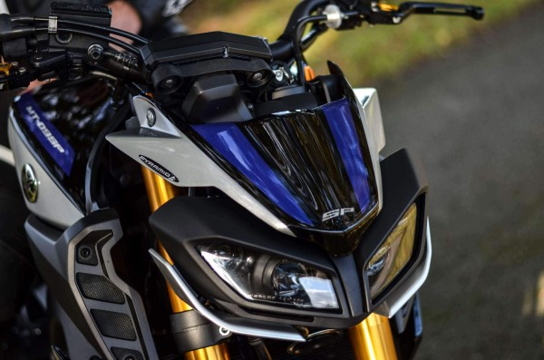 Pyramid Fly Screen SP Farben Yamaha MT-09 SP 2018>
