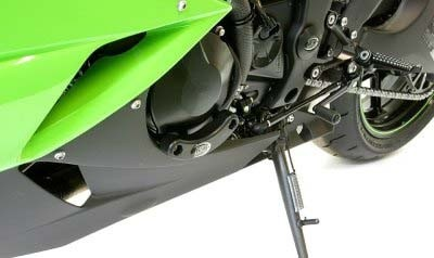 R&G Motorseitendeckel-Protektor - Kawasaki ZX 6 R