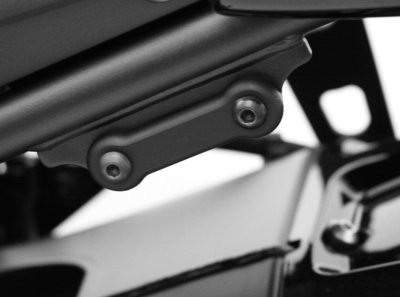 Soziusrasten Abdeckplatten - Yamaha FZ 8 Fazer
