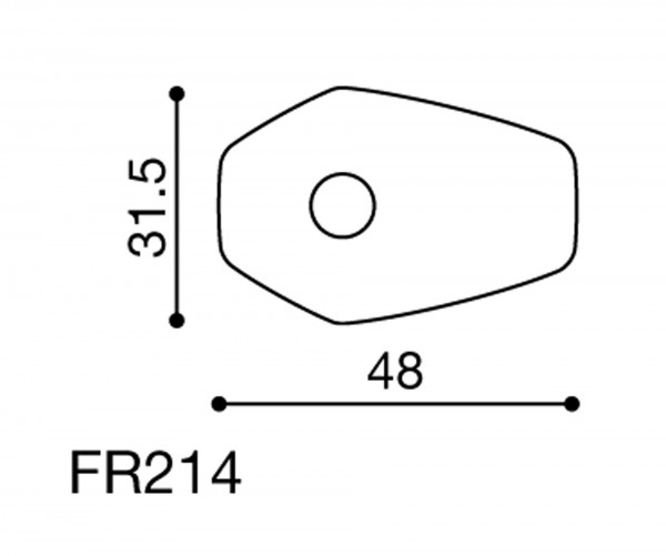 Rizoma Blinker Adapter FR214B