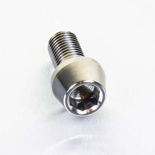 Edelstahl A4 Innensechskantschraube konisch M10 x (1.25mm) Fein x 20mm
