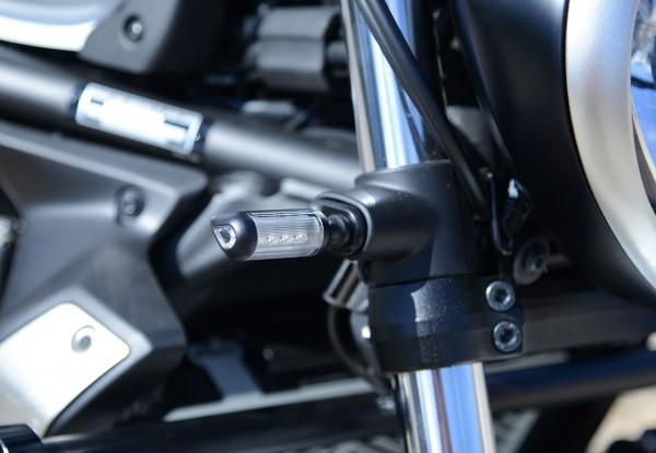 R&G Vordere Blinker Adapter Kit für die Kawasaki Vulcan S '15-