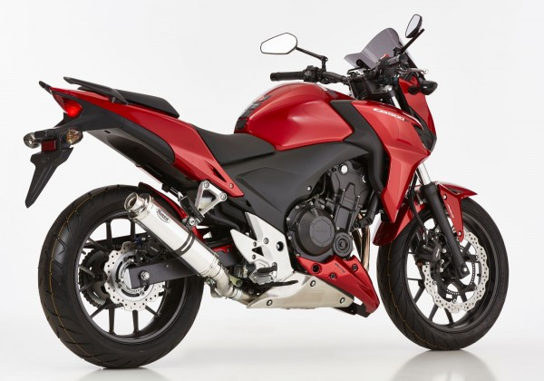Foto zeigt Artikel an Honda CB500F bis 2015.