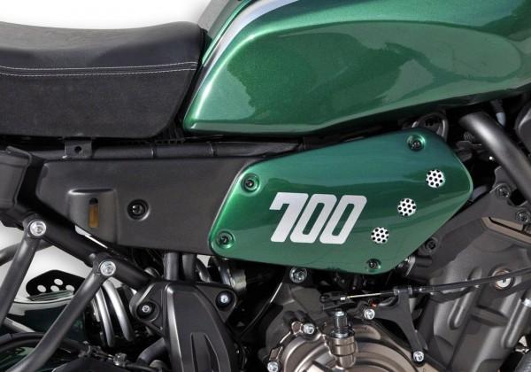 Seitenteile - grün - Yamaha XSR700 (2016-2017)
