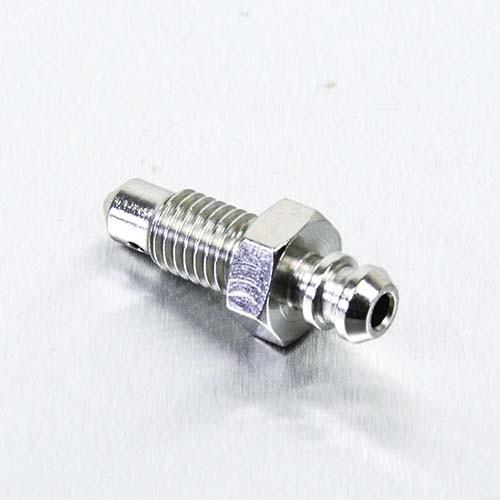 Edelstahl A4 Entlüfter Nippel M7 vorne Bremse Bremszylinder