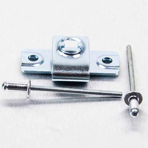 6mm Aufniet Gegenstück für 1/4 Schnellspanner