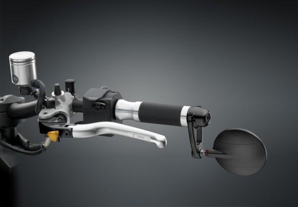 Lenkerenden Spiegel Spy Arm mit ABE - schwarz