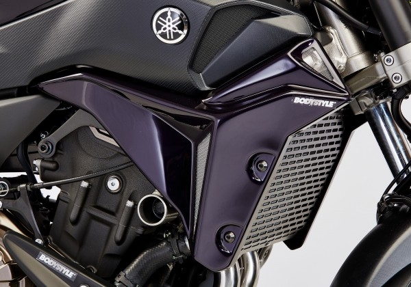 Kühlerseitenverkleidung - schwarz - Yamaha MT-07 (2017)
