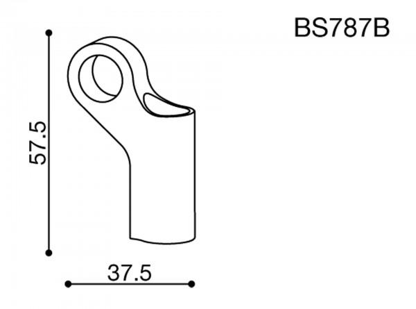 Spiegeladapter - BS787B