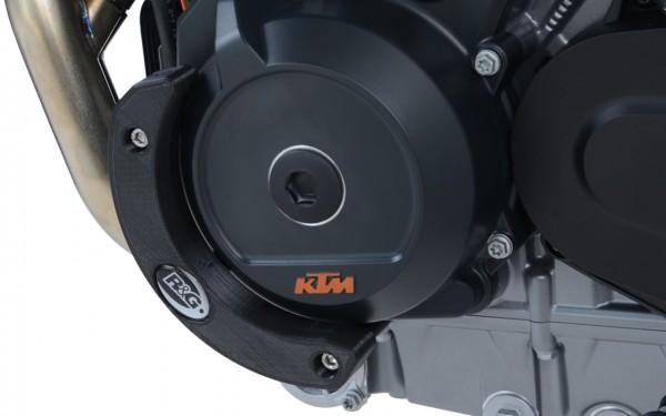 Motorseitendeckel Sturzpad linke Seite KTM 790 Duke '18-