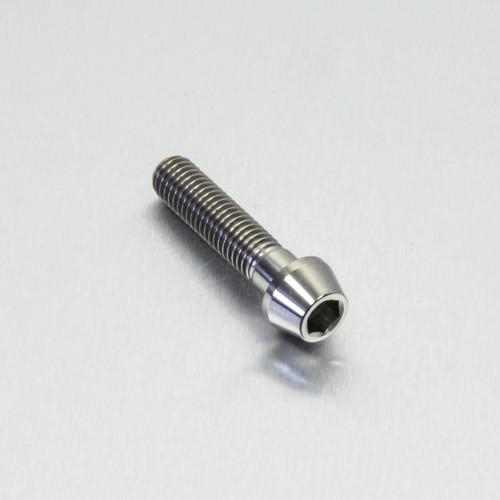 Innensechskant konischer Kopf Titan Schraube M6 x 40mm
