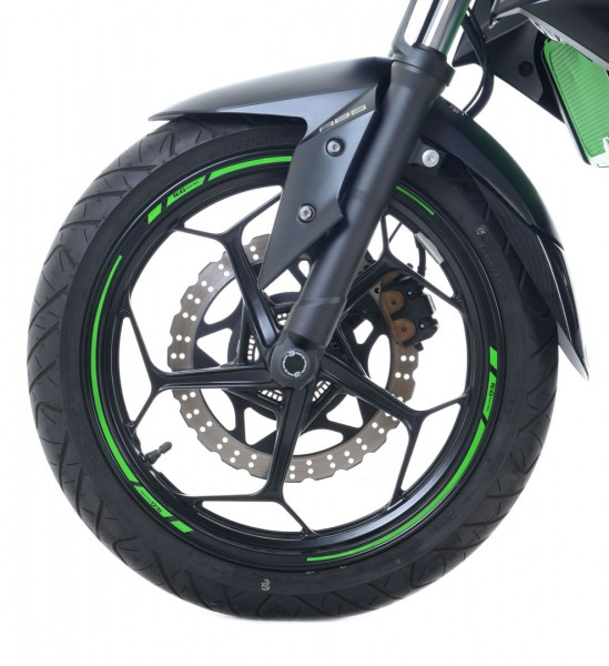 R&G 16-Stück Modular Motorrad Felgenrand Aufkleber