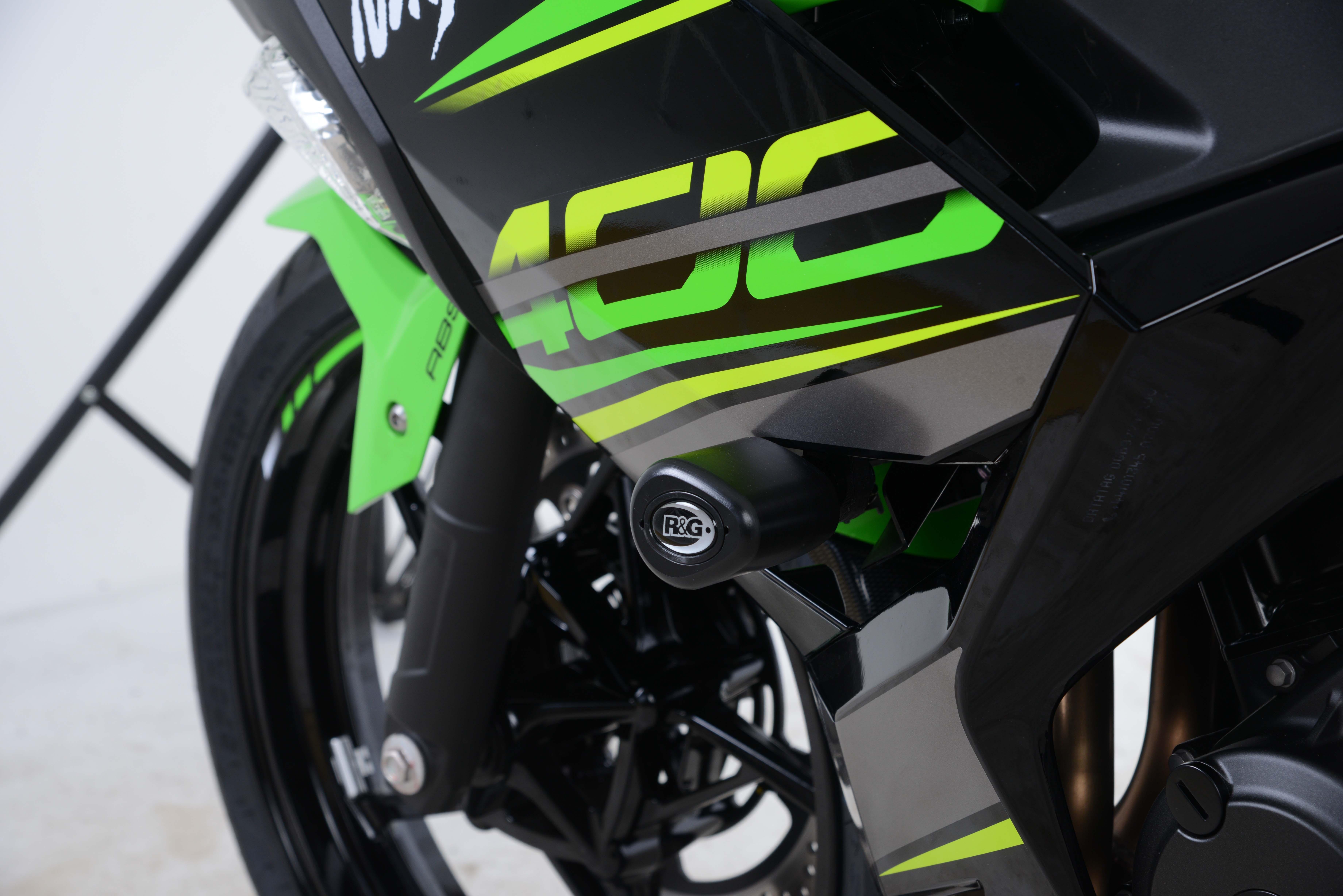 Aero Sturzpads - Kawasaki Ninja 400 \'18- | Powerparts Hinz ...