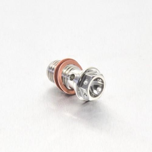 Edelstahl A4 Einzel Hohl Schraube Bremssattel vorne  M10 x (1.25mm) - Race Spec