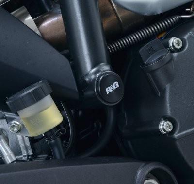 Rahmenstopfen schwarz Ducati Scrambler