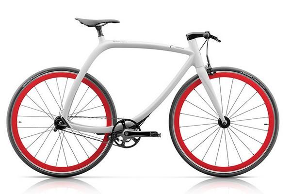 Rizoma R77 Metropolitan Bike Matt Weiß - Lunar White