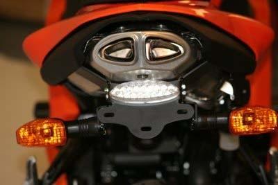 Kennzeichenhalter - Kawasaki ZX 6 R