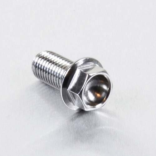 Edelstahl A4 Sechskantschraube mit Flansch M10 x (1.25mm) x 25mm