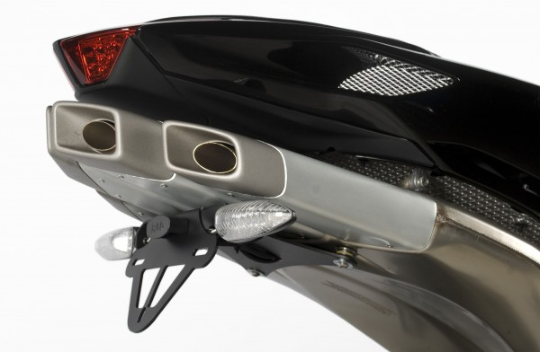 Kennzeichenhalter - MV Agusta F4 1000 R '06- / F4 MY '10- / F4 RR '11- (square exhausts)