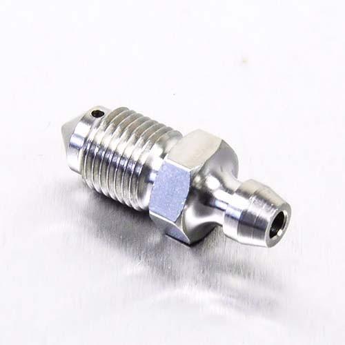 Edelstahl A4 Entlüfter Nippel M10 vorne Bremse Bremszylinder