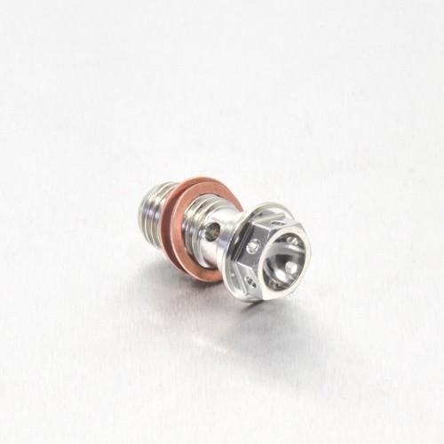 Edelstahl A4 Einzel Hohl Schraube Hinten Bremszylinder M10 x (1.25mm) - Race Spec