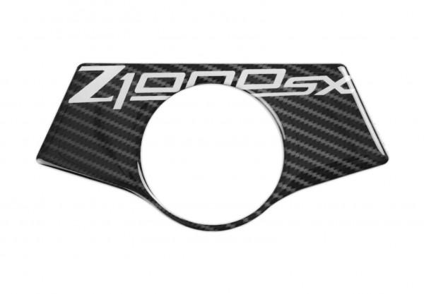 R&G Red Dynamic Carbon Gabelbrücken Protektor für Kawasaki Z1000SX '11-'16