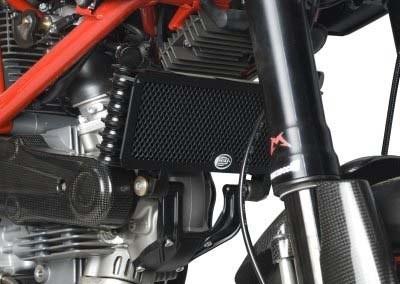 R&G Kühlerprotektor - Ducati Hypermotard 1100 EVO / EVO SP