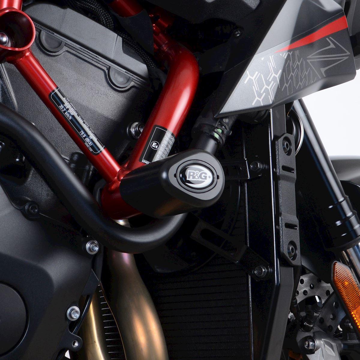 H2Racing 2 St/ück Motorrad Sturzschutz Sturzpads Rahmen Crashpads Protektoren f/ür Yama-ha MT-07 FZ07 XSR 700 Tracer 700 2014-2018