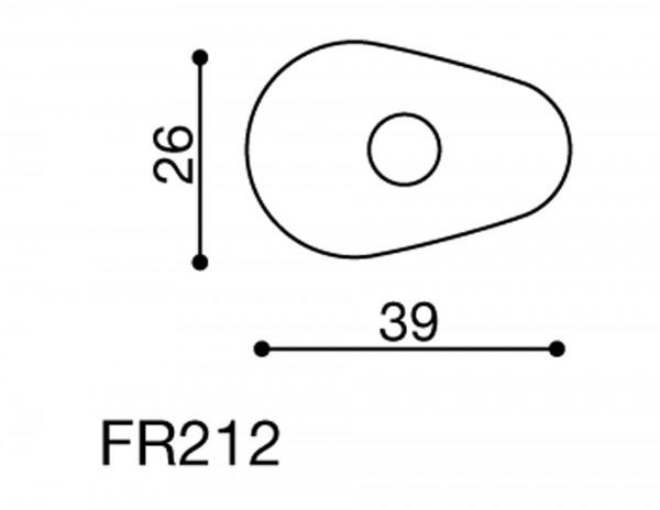 Rizoma Blinker Adapter FR212B