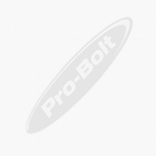 Alu Gewindeflansch M8 Gewinde 10mm Durchmesser 5mm Länge