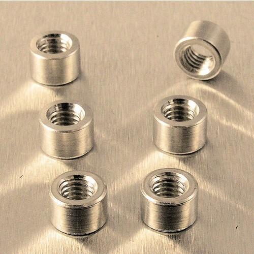 Alu Gewindeflansch M5 Gewinde 7.5mm Durchmesser 5mm Länge