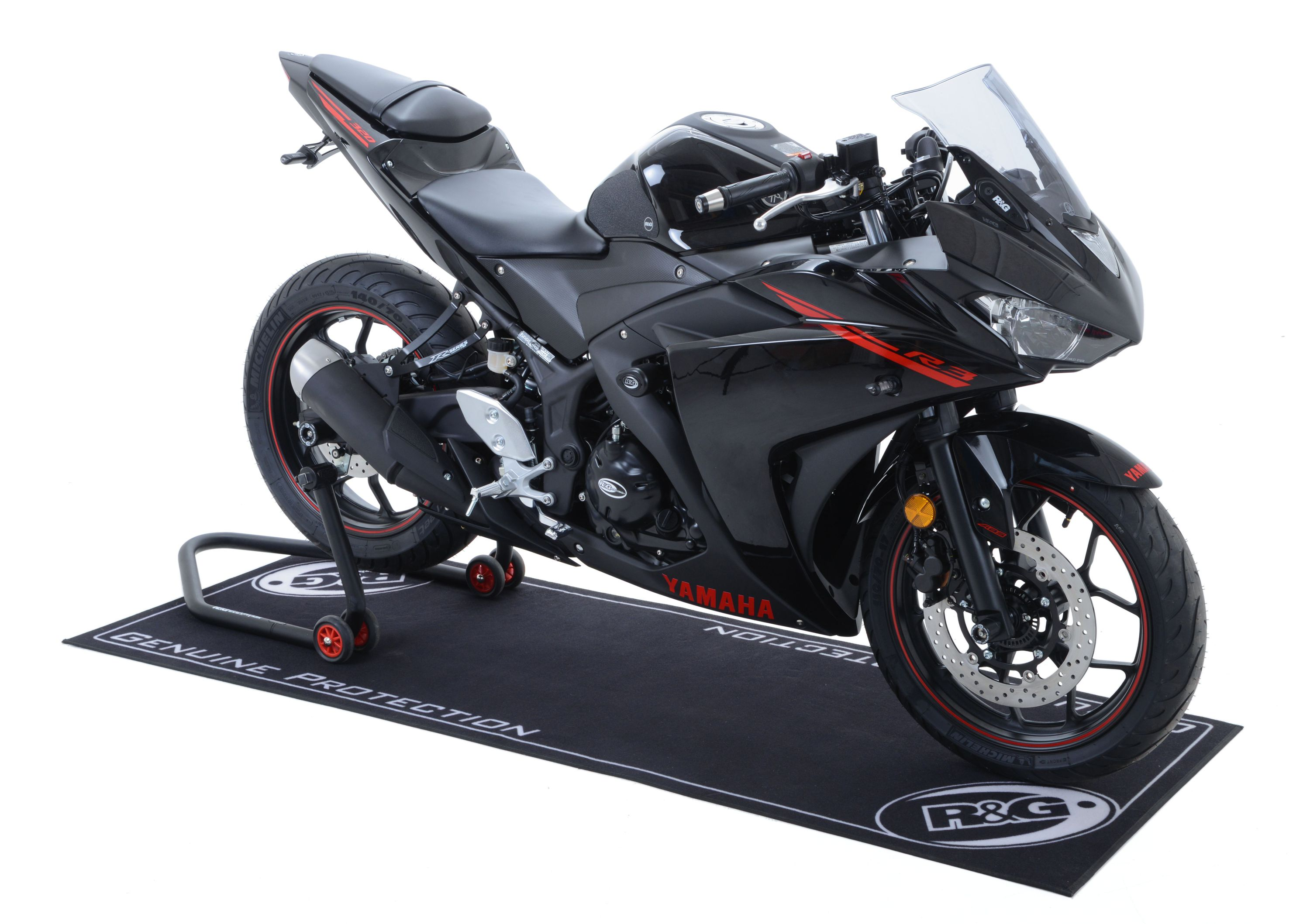 r g racing motorrad protektor powerparts hinz. Black Bedroom Furniture Sets. Home Design Ideas