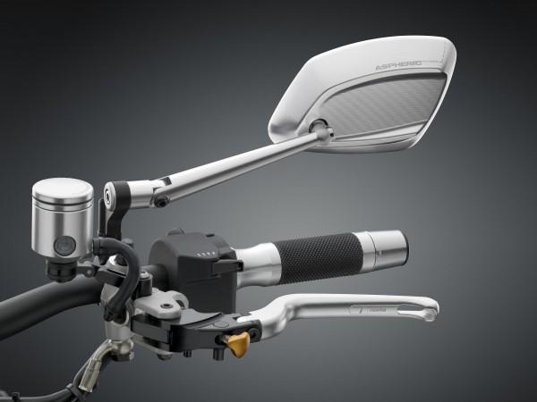 Spiegel 4D RS - silber - Rechts