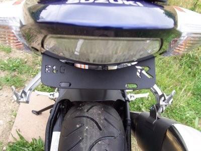 Kennzeichenhalter - Suzuki GSX-R 1000 Bad Boy