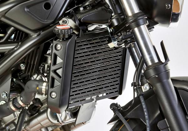 PROTECH Kühlergrillabdeckung - schwarz - Suzuki SV 650 (2016-2017)