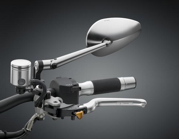 Spiegel Radial RS - silber