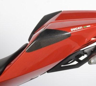 Heck Protektor aus Carbon - Ducati 1199