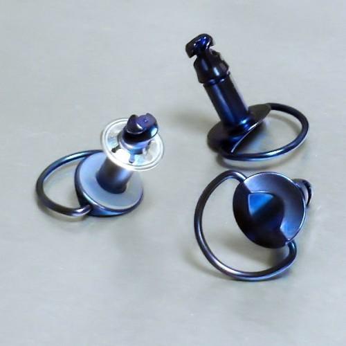 19mm Titan D,Rring Schnellspanner blau Stk