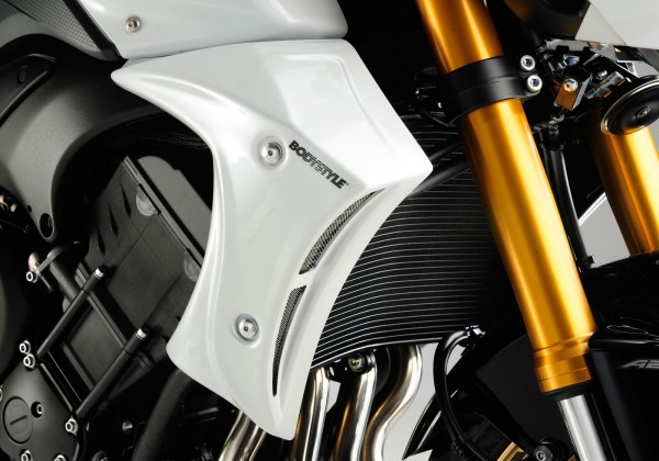 Kühlerseitenverkleidung - weiß - Yamaha FZ8 (2010-2013)
