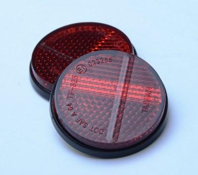 R&G Kennzeichen Reflektor 4cm E-geprüft