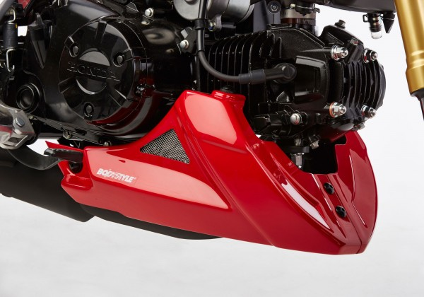 Bugspoiler mit ABE - grau-matt - Honda MSX 125/Grom (2016)