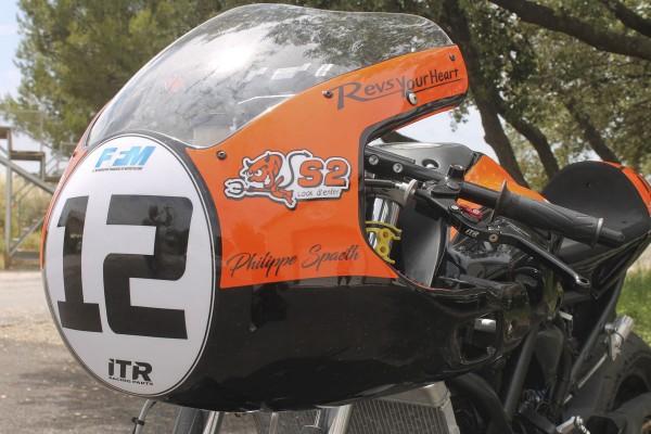 Frontverkleidung Twin Cup Yamaha MT-07