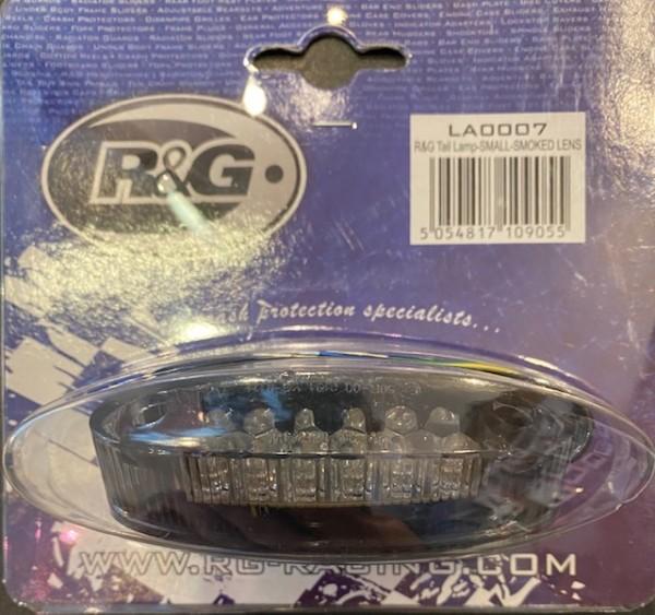 R&G Racing LED Rücklicht klein getönt Ersatzteil mit E-Nummer