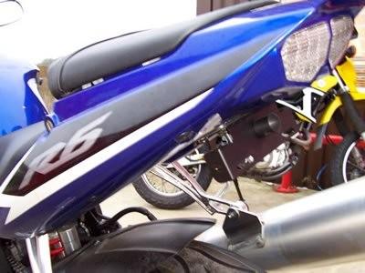 Kennzeichenhalter - Yamaha YZF R6 / R1
