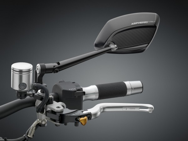Spiegel 4D RS - schwarz - Links