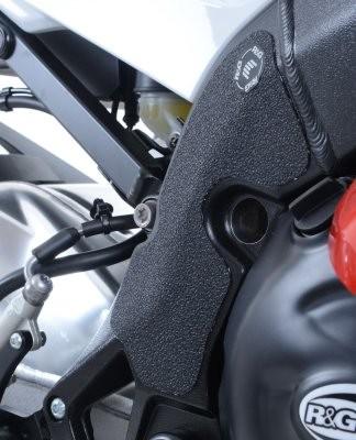 R&G Rahmen Schutzpads - Für BMW S1000RR Bj. 15 - - schwarz