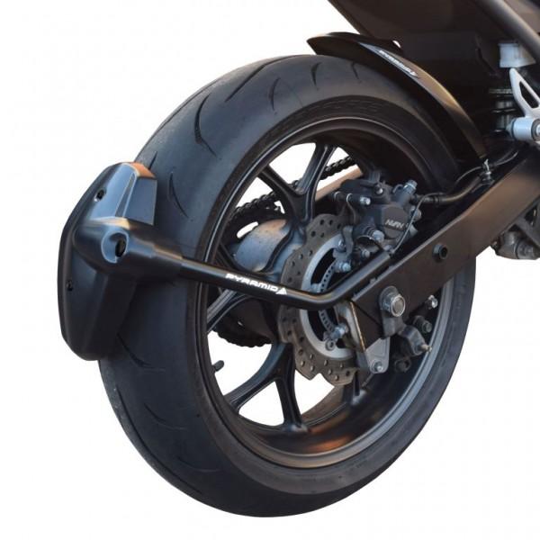 Hinterradabdeckung/Spritzschutz schwarz Honda NC 700, NC750