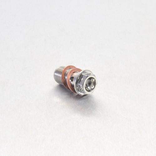 Edelstahl A4 Einzel Hohl Schraube vorne Bremszylinder M10 x (1.00mm) - Race Spec