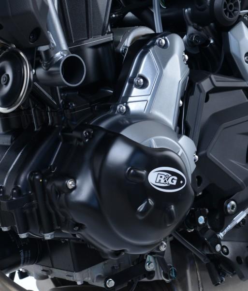 R&G Slash Cut Motor Seitendeckel Protektor für Kawasaki Z650 '17- & Ninja 650 '17- (Linke Seite)